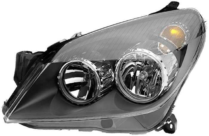 Strålk vä H1/H7 Opel Astra 04-