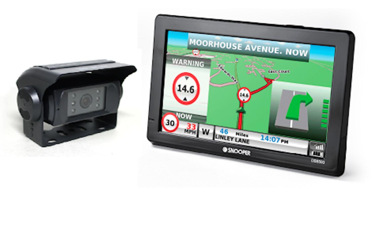 Navigation-Backkamerapaket