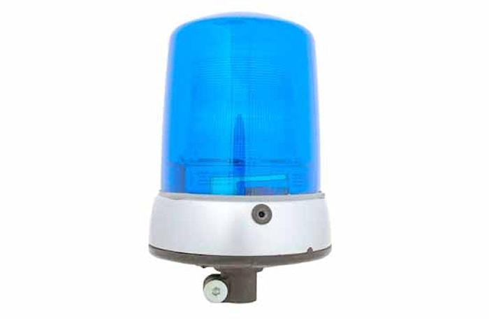 Blixtfyr 12V blå KLX 7000 FL
