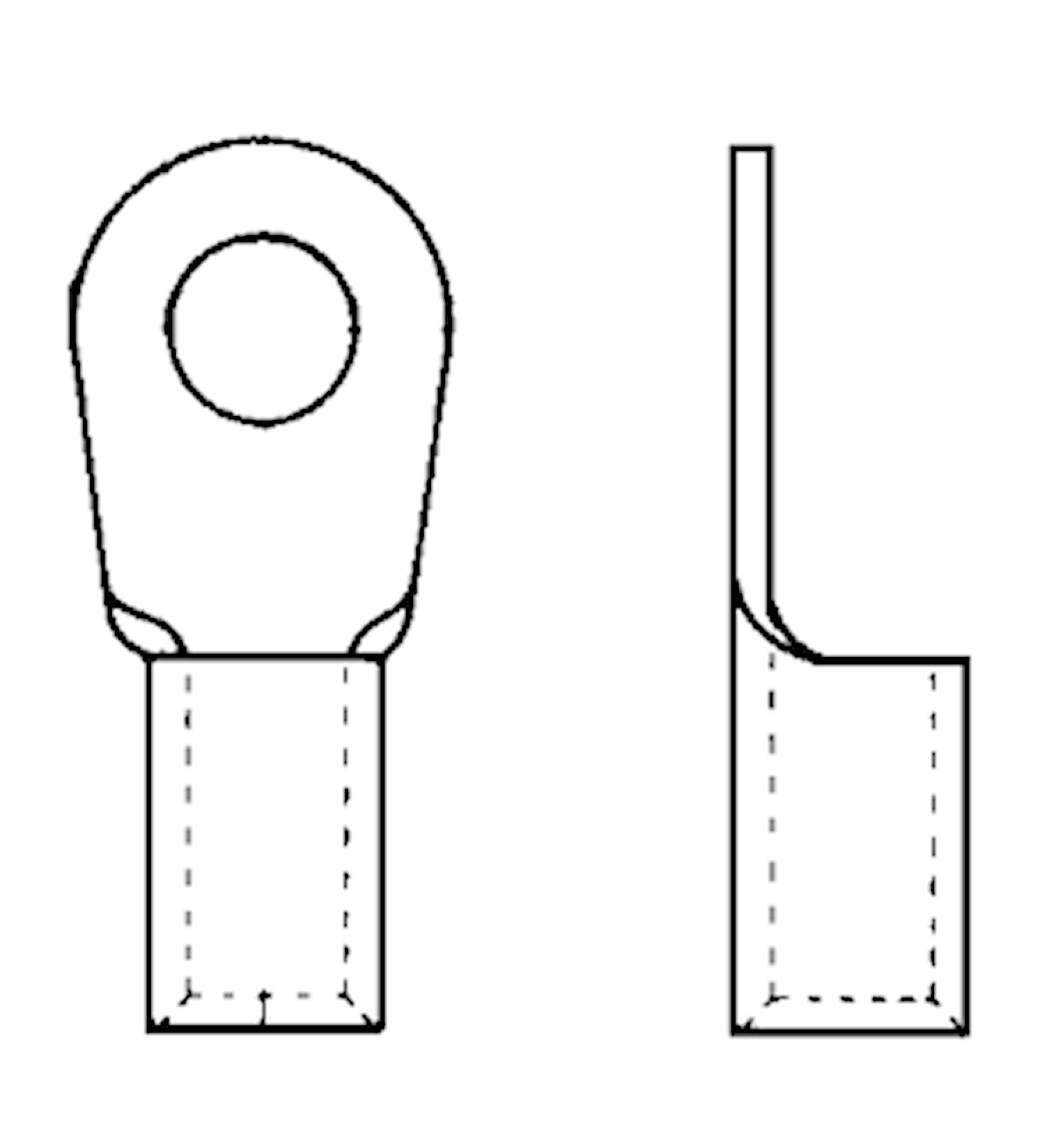 Presskabelsko 10,5mm , 50mm²