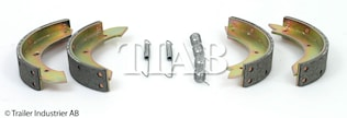 Bromsback sats 4 st bpw  230x4