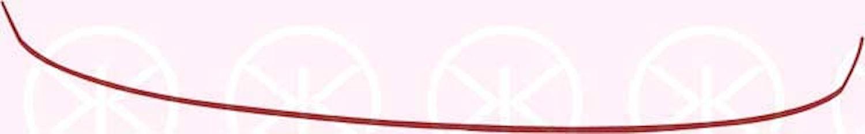 Stötf.list röd fram & bak