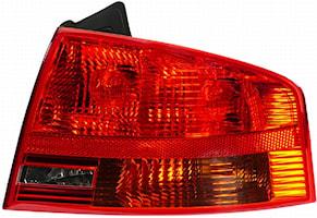 Baklykta hö yttre för Audi A4