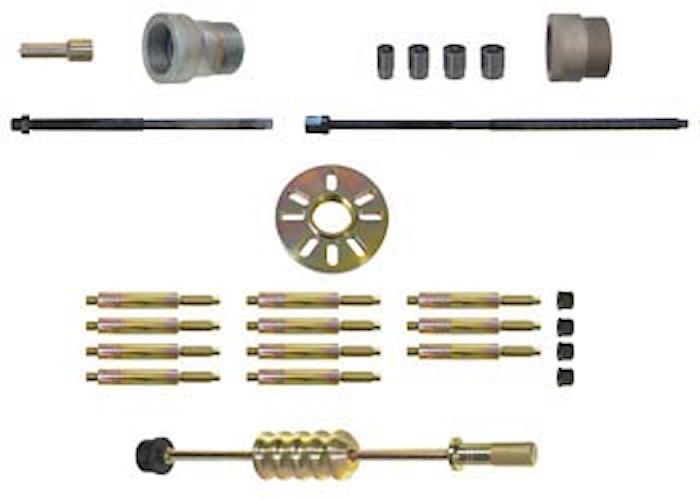 Hjulnavs-/drivaxelverktyg