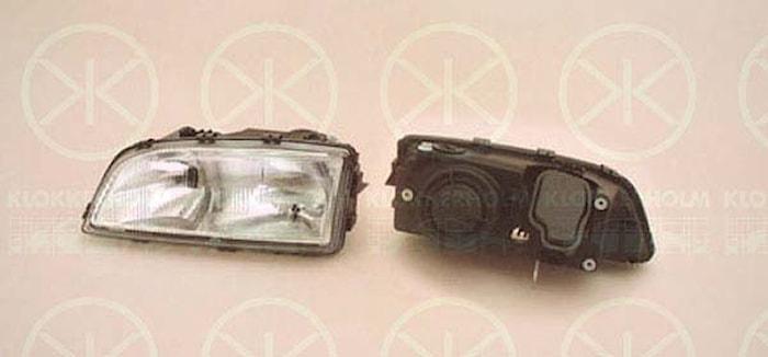 Huvudstrålkastare, höger