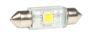 LED-lampa 12V Festoon 10,5x38
