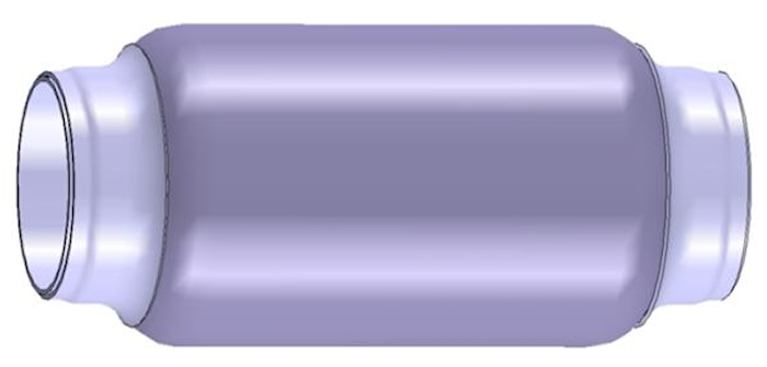 Flexrör 54,6x105