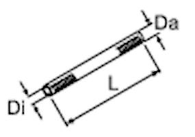 Bränsleslang Ø4,5-10,5mm, 10m