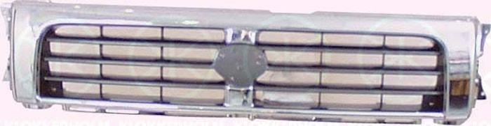 Kylargrill krom/silver 92-