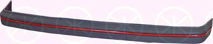 Stötf.fram grå/röd -90