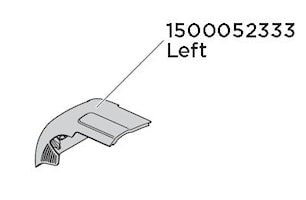 Lock vänster Edge 959X