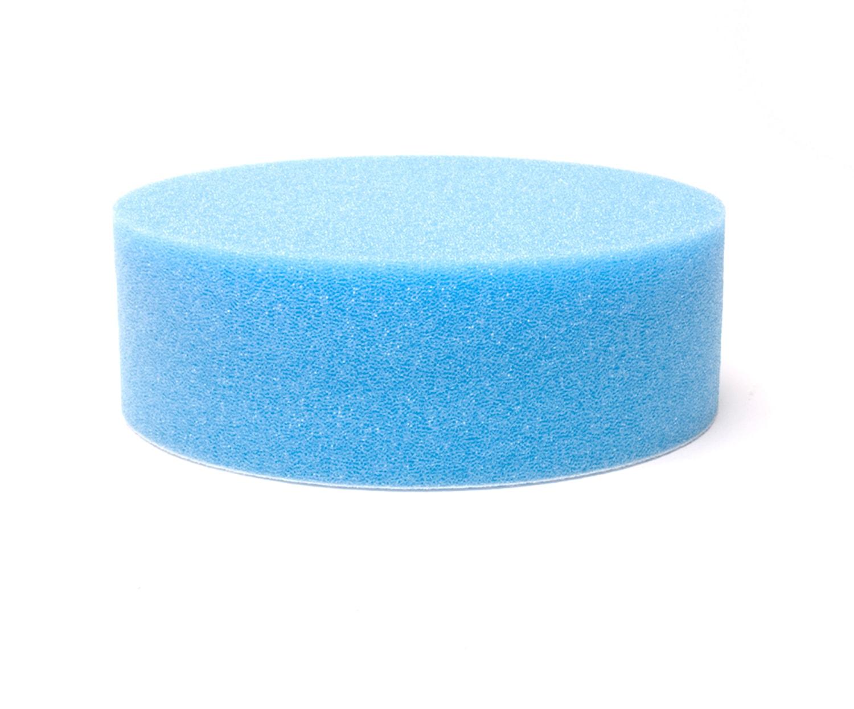 Polerrondell Blå 150 mm