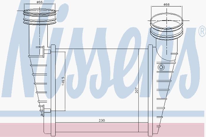 Intercooler/Laddluftkylare
