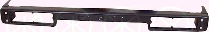 Stötfångare bak, svart 86-88