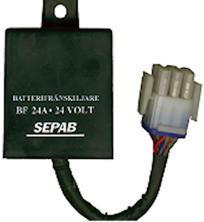 Batterifrånskiljare 24 volt