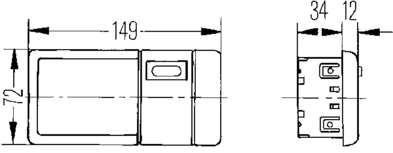 Innerbelysn 149x72mm m strömbr