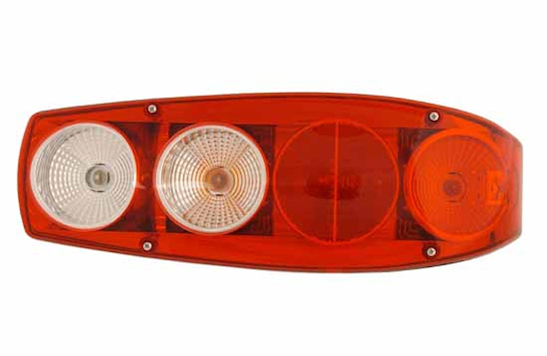 Bakl hö 12V 504x178mm m reflex