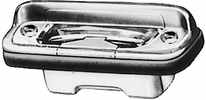 Reg.skyltbelysning 83x31,6mm