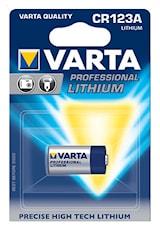 Batteri CR123A 3V litium