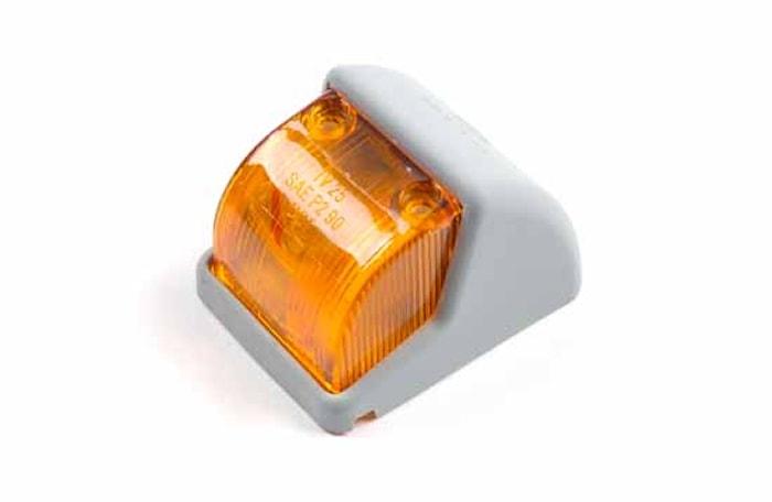 Pos.lykta gul 68x53,5x45mm