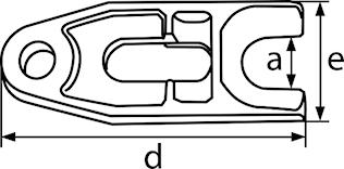 Gaffel 30 mm