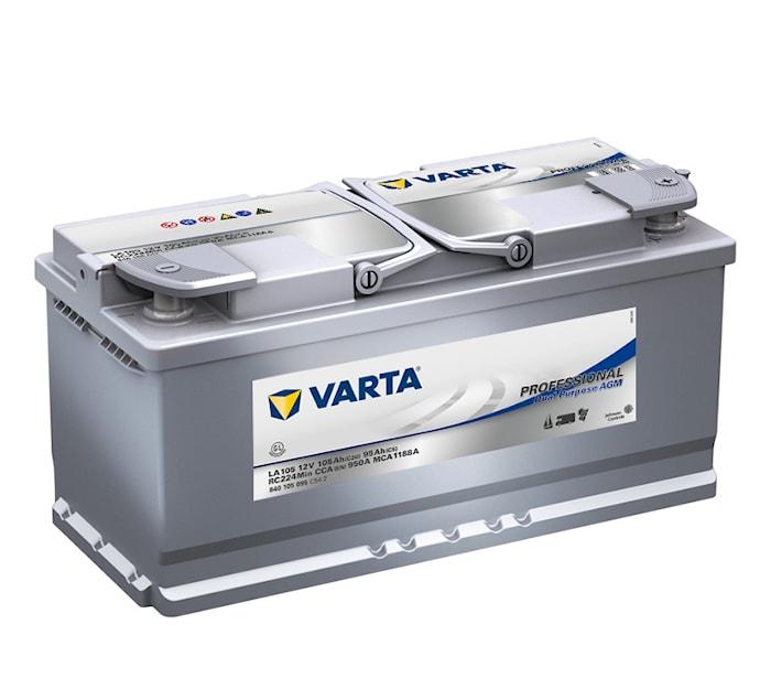 Batteri LA105 Prof. DP AGM