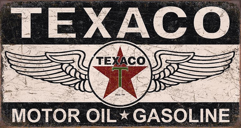 Plåtskylt/Texaco