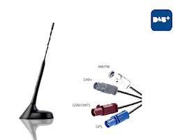 Antenn DAB-A-GPS-GSM-a
