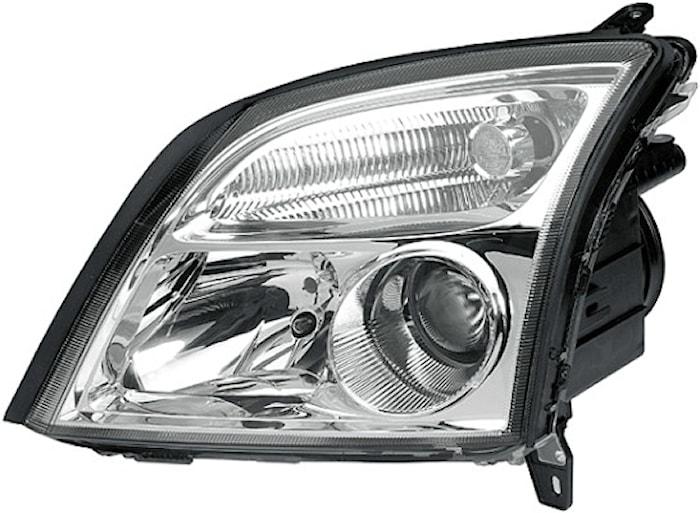 Strålk vä H7/Xenon Opel Vectra
