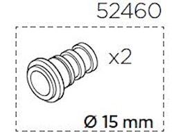 Adaptersats 15 mm axel