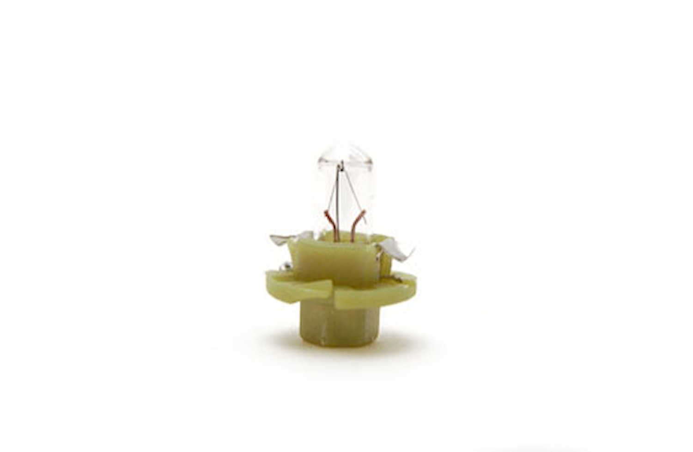 Glödlampa 12V 1,3W BX8,4D
