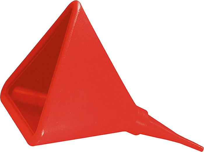 Tratt/trekantig