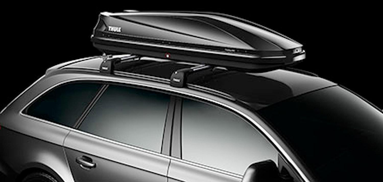 Takbox Touring Sport600 svart
