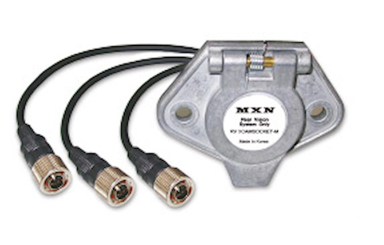 MXN kontakt hane 3 kameror