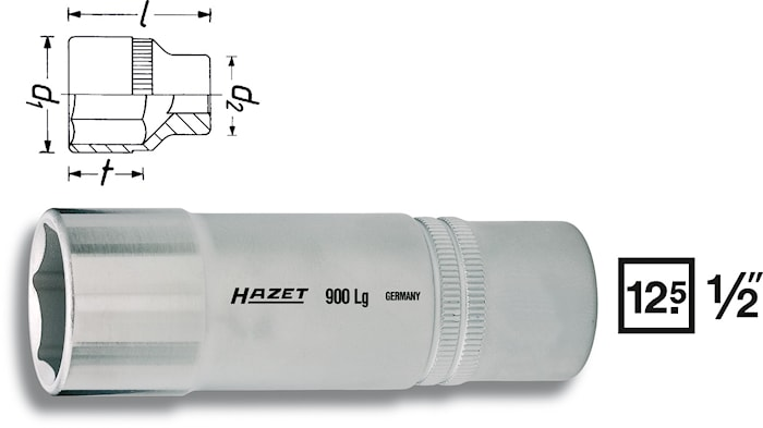 "Hylsa 1/2"" 19 mm"