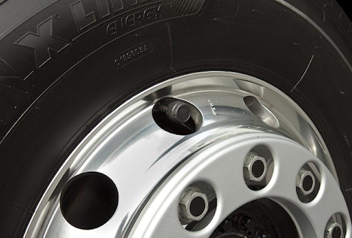 Däcktryckskontroll för 4 hjul