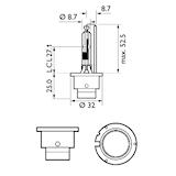 Gasurl.lampa D2R WhiteVision