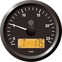 Hastighetsmätare  25Km 12/24V