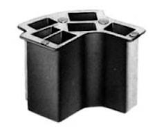 Hylsblock 6x6,3 mm för tändlås