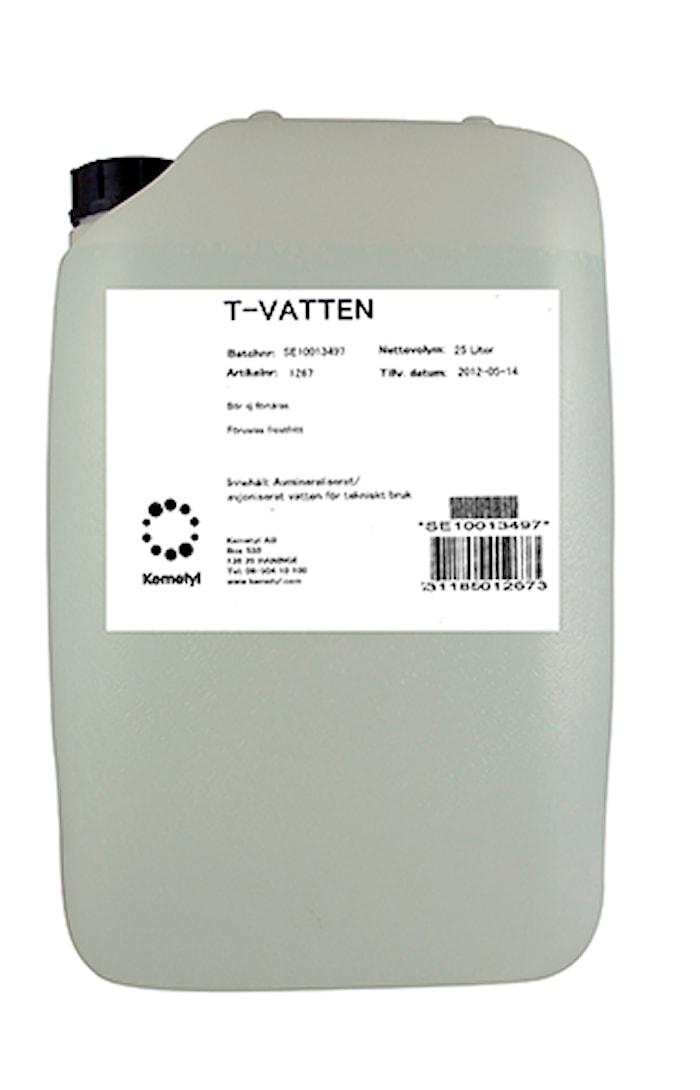 Batterivatten T-vatten