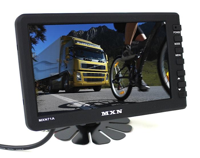 """Skärm Digital LCD/TFT 7"""" 12/24"""