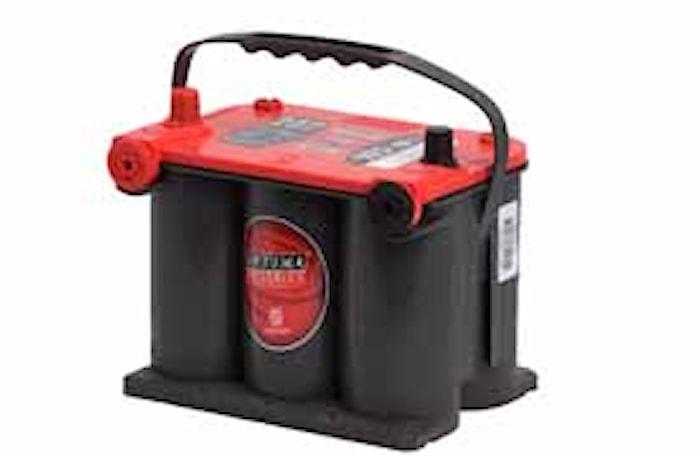 Batteri RTU3.7 RedTop