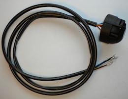 Trailersafe kabel med kontakt