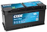 Batteri Exide AGM 105Ah