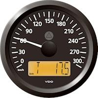 Hastighetsmätare 300 Km 12/24
