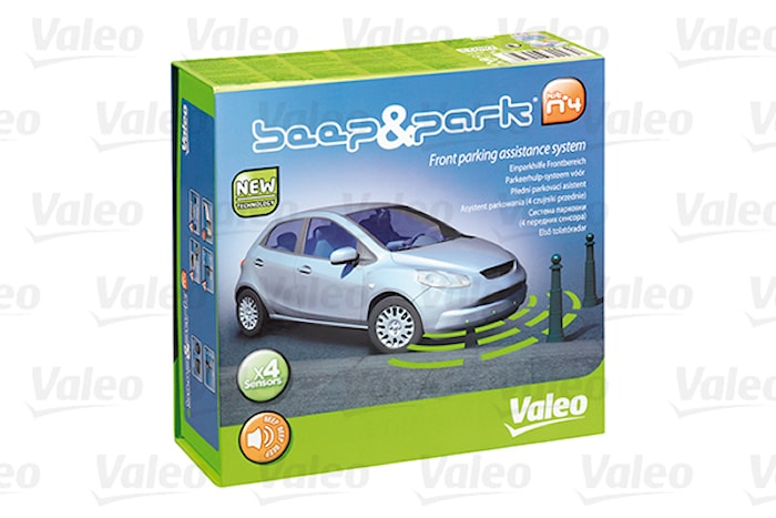 Parkeringshjälp Valeo fram