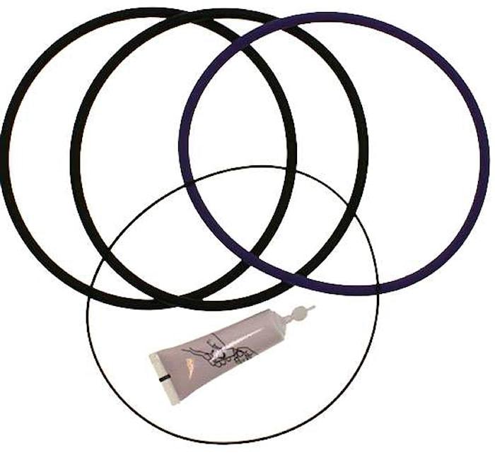 Packningssats cylinderfoder