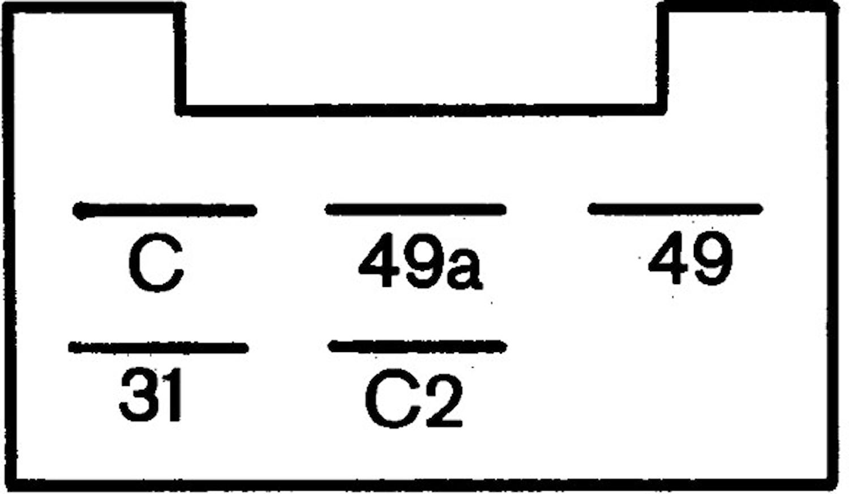 Blinkrelä 24V 5-ansl 2+1x21+5W