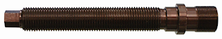 Zugspindel M17x1, 132mm lang