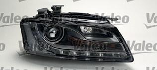Strålkast hö Xenon Audi A5 07-